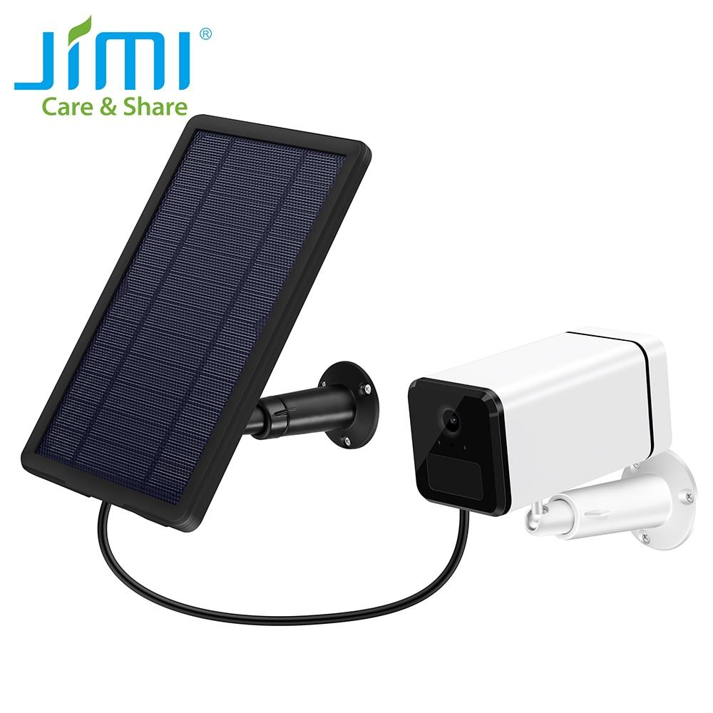 Jimi-كاميرا مراقبة IP 1080p (JH018) ، جهاز أمان خارجي عالي الدقة بالكامل ، مع شبكة 4G ، وبطارية قابلة لإعادة الشحن