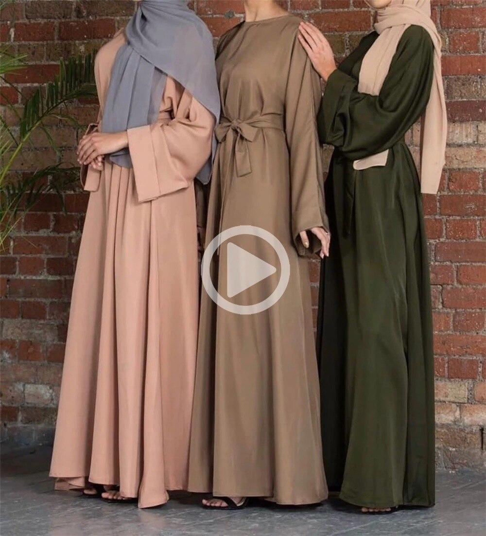 Мусульманское платье для женщин, Женская рабочая одежда, Турция, Исламская одежда, длинное женское платье, платья, Largos Jilbab
