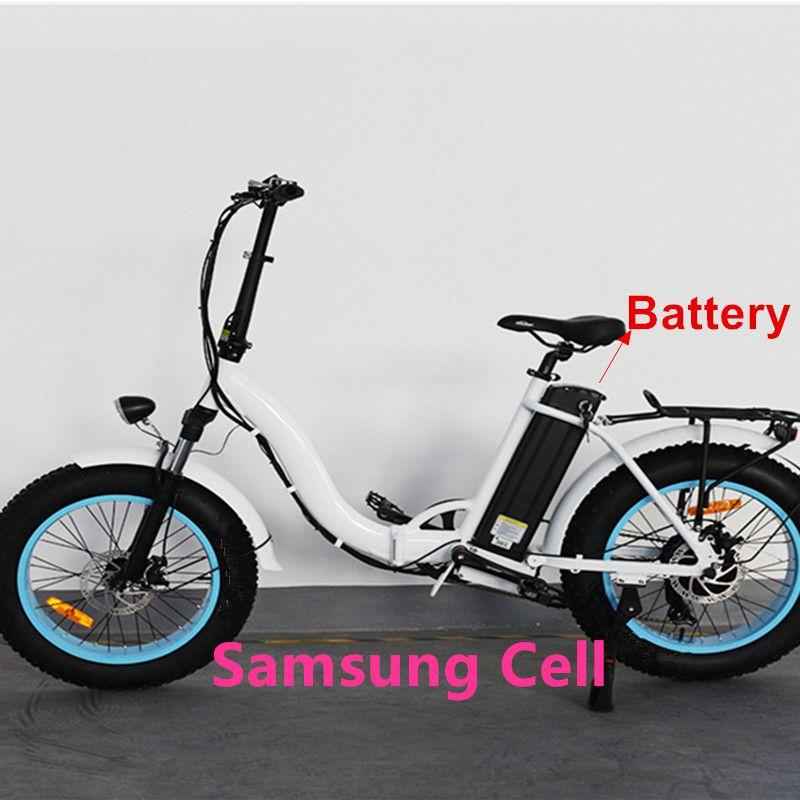 48V Silver fish 13AH 15AH 16ah 18AH 21AH batería eléctrica de la bici de la suciedad de la descarga inferior batería de la bici de la grasa del neumático 3 ruedas batería de la bicicleta eléctrica