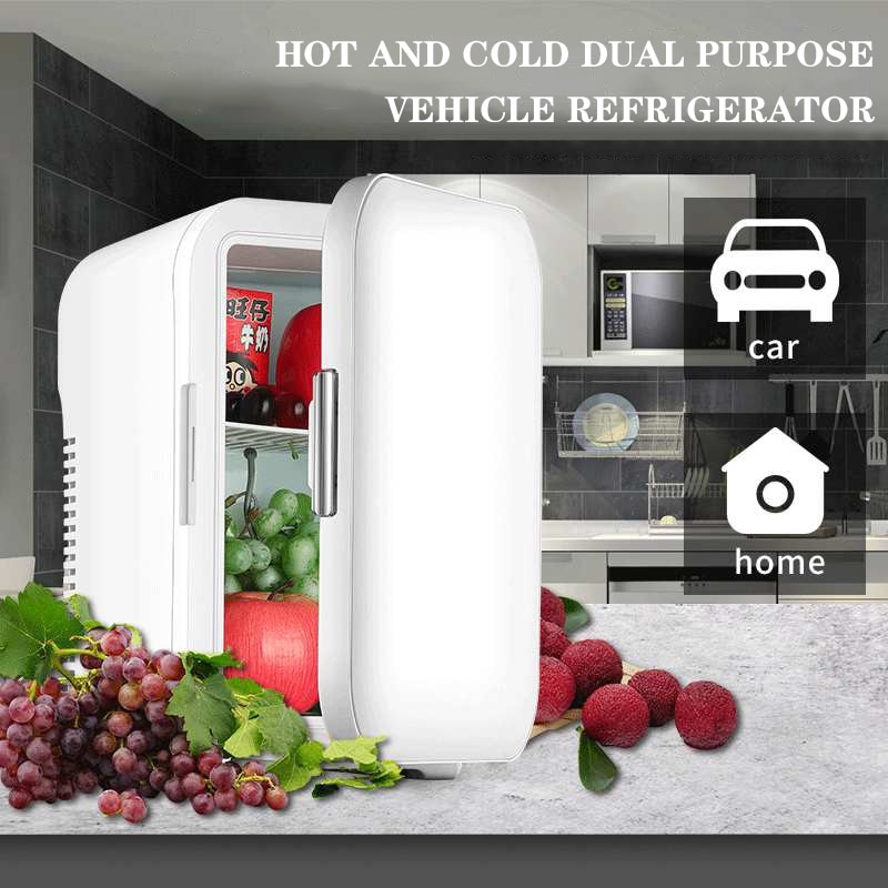 Портативный автомобильный холодильник с низким уровнем шума, охлаждаемый мини-холодильник, бытовой холодильник для хранения охлажденных п...