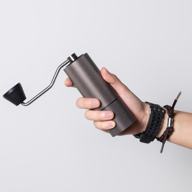 Timemore-مطحنة قهوة يدوية من الفولاذ المقاوم للصدأ C2, عالية الجودة ، طاحونة قهوة
