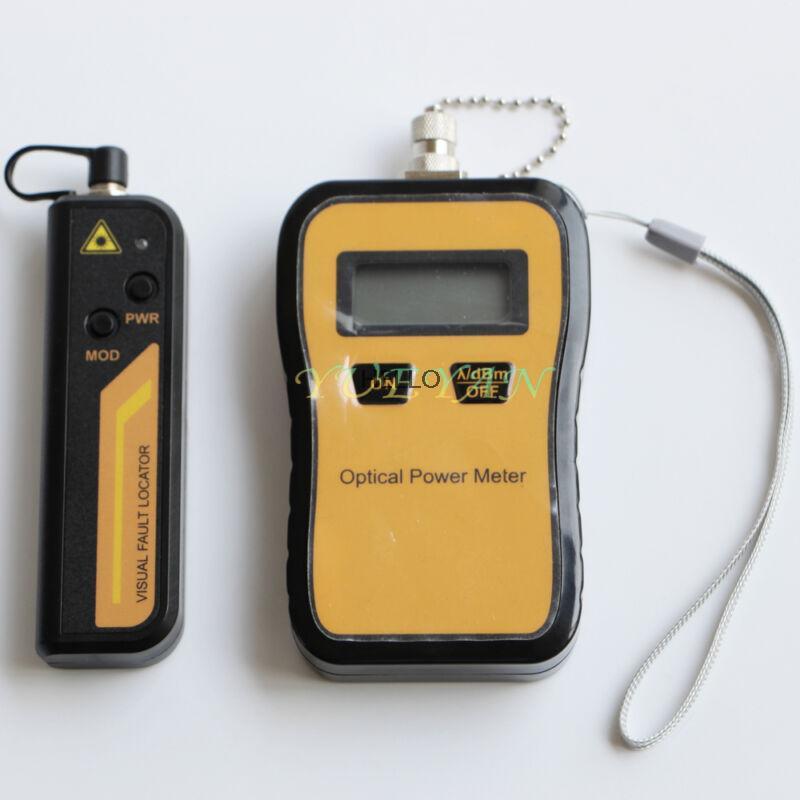 -70 + 6dBm 10mW Visual Fault Locator Cabo De Fibra Medidor de Potência Óptica Testador