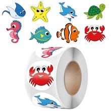 50-500 stücke Nette Karikatur Starfish Aufkleber Kinder Belohnung Label Ermutigung Scrapbooking Dekoration Schreibwaren Aufkleber