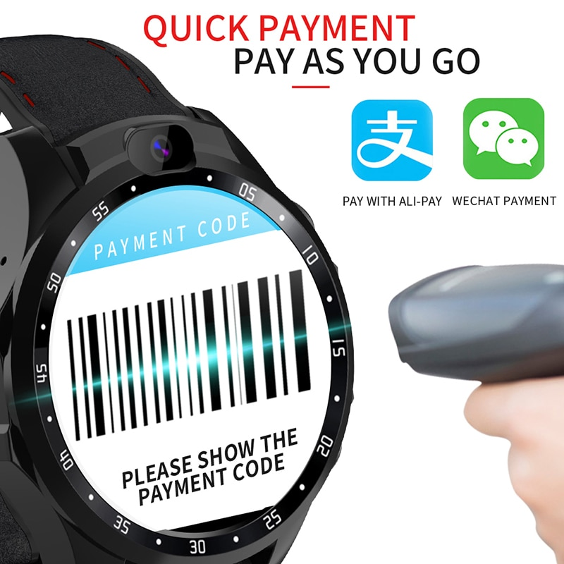 Review Smart  Android Watches OS 3+32GB Sport Multi Dial GPS WIFI Bluetooth Quick Payment Men Women Business Use Phone Call Smartwatch