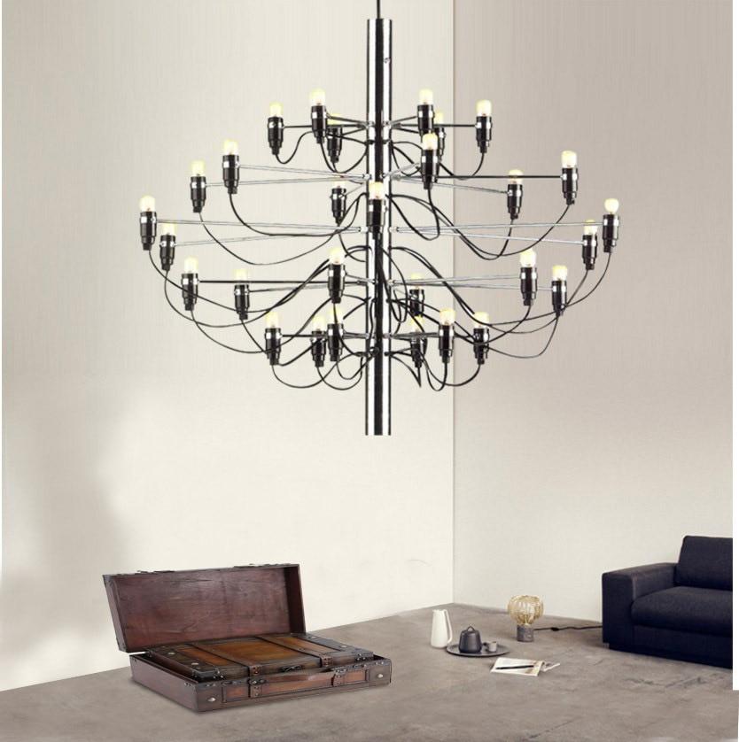 Gino Sarfaitti, candelabro de diseño, iluminación para sala de estar, dormitorio, escalera, candelabro de rama de alambre, lámpara, rosa, dorada, negra