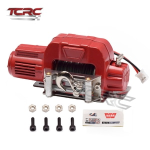 TCRC Alloy Winch with Wireless Remote Controller for 1/10 RC Crawler Car RC4WD D90 Axial SCX10