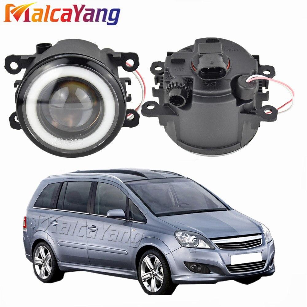 2x NEW Angel Eyes Car styling LED fog Lights For Opel Zafira B MPV A05 2005-2011 For Opel Meriva A 2006 2007 2008 2009 2010