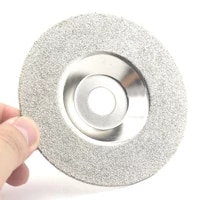 4 inch 60 grit diamond grinding disc coated flat lap disk wheel lapidary tools for angle grinder coarse glass 12000 rpm