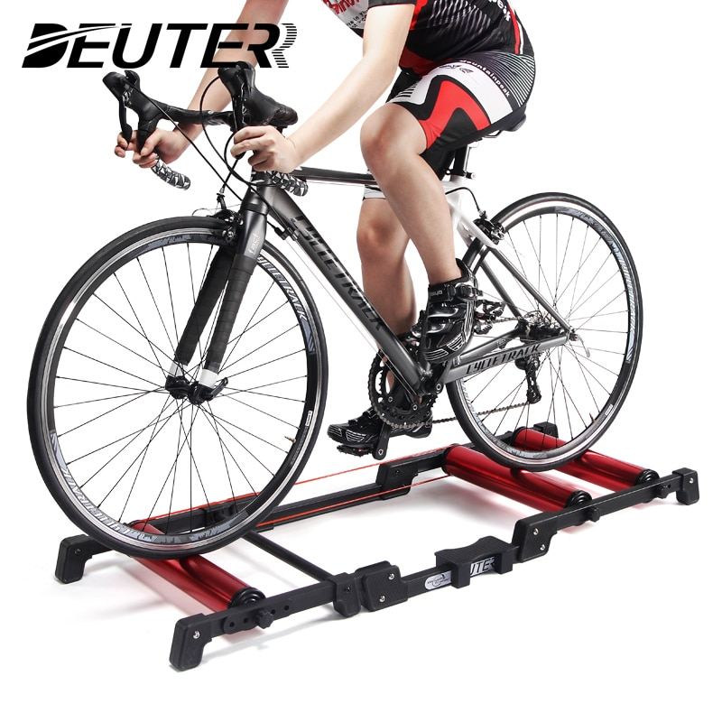 Bike Rollers Indoor Stationary Exercise Bicycle Roller Trainer Belt Stand Aluminum Alloy For 24-29 MTB Road Home Training