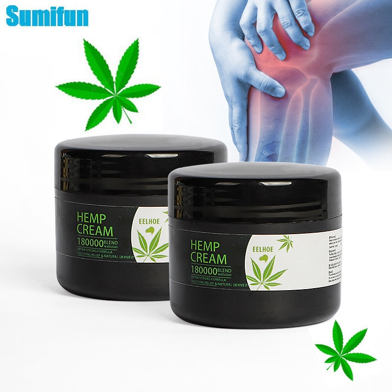 AliExpress - 30g Natural Herbal Anti-Inflammation Hemp Cream For Neck Pain Balm Ointment Pain Relief Relieve Muscle Pain Green Hemp Balm