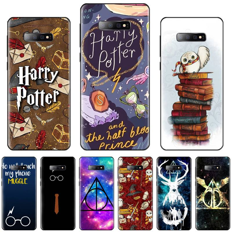 Funda de teléfono con diseño de cómic Always hogwares Harry Potter para Samsung Galaxy S5 S6 S7 S8 S9 S10 S10e S20 edge plus lite