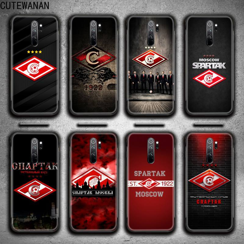Spartak Moscow Phone Case for Redmi 9A 9 8A 7 6 6A Note 9 8 8T Pro Max K20 K30 Pro