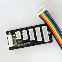 Зарядное устройство B6AC A6 для 2S-6S RC Lipo, балансировочный зарядный адаптер, плата расширения, параллельная зарядная пластина, детали для игруше...