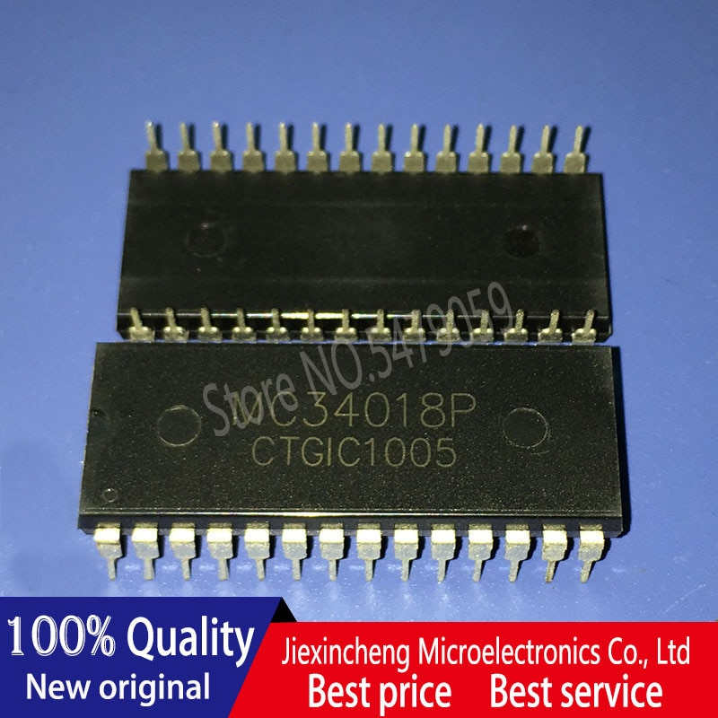 NEW 10PCS/LOT MC34018P MC34018 DIP28 in stock