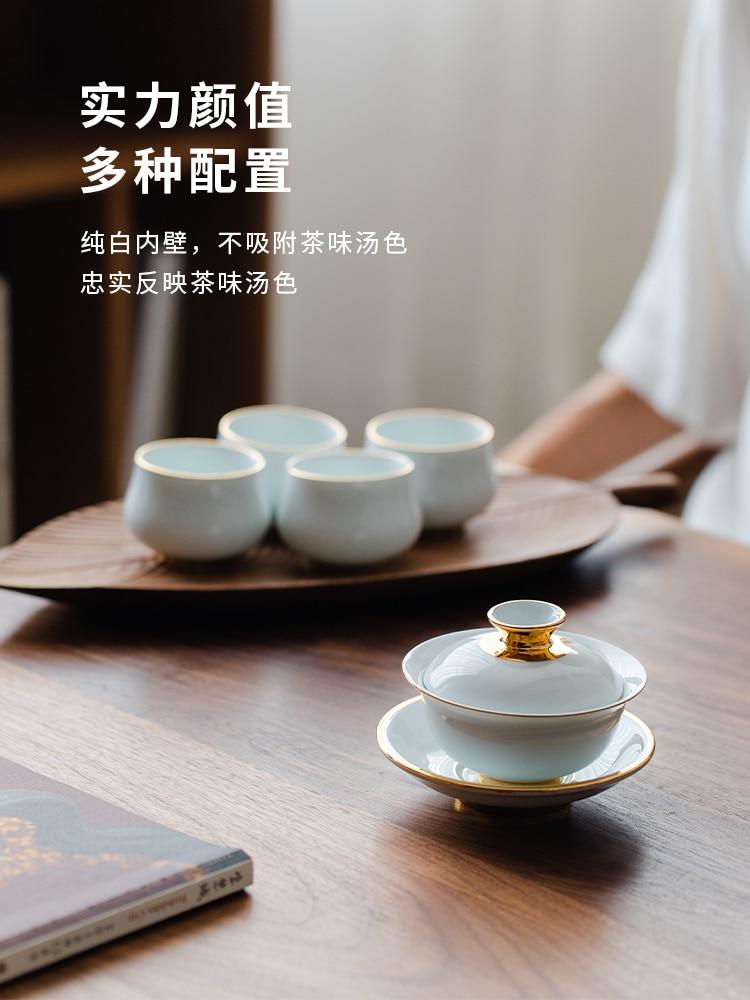 Dehua الأبيض الخزف طقم شاي الخزف الكونغ فو طقم شاي طقم شاي الخزف الأبيض هدية صندوق الصينية طقم شاي الكونغ فو