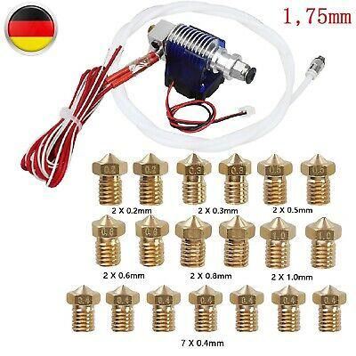 0.2-1.0mm 19x Spray Metal 12V  Set For 1.75mm 3D Printer Hot End Head Spray Extrusion