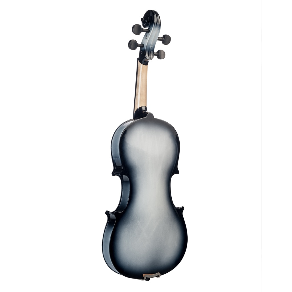 NAOMI 4/4 Full Size Gradual Painted Acoustic Violin Fiddle W/ Carrying Case Rosin Brazilwood Bow Student Violin Beginner Use enlarge