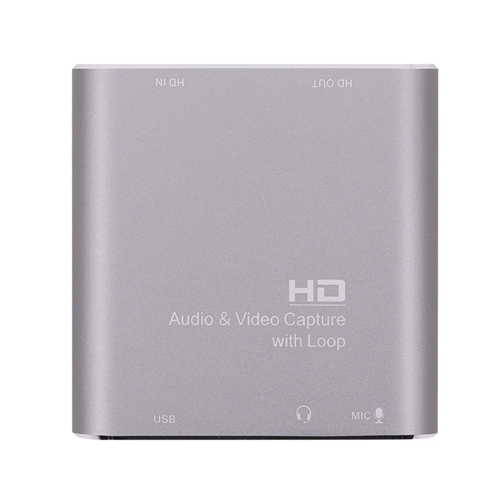 Usb 3.0-بطاقة فيديو 4K عبر الإنترنت للألعاب ، وتدريس صوتي عبر الإنترنت ، وكاميرا فيديو DVD ، وميكروفون 1080P 60 إطارًا في الثانية