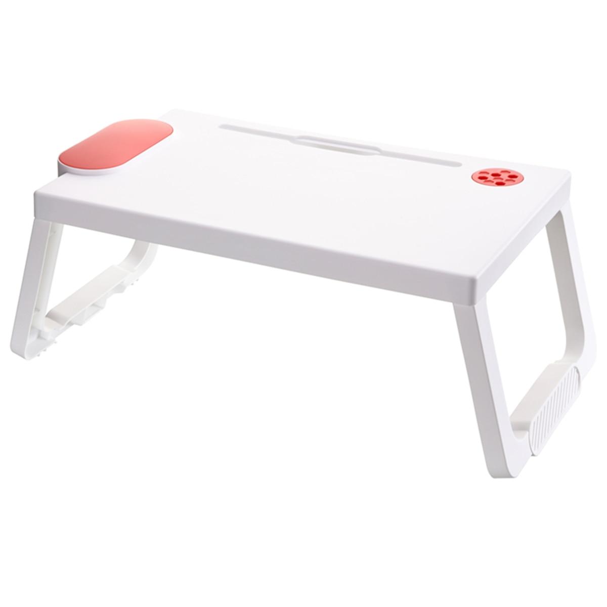 Стол для ноутбука, Astory Портативный ноутбук столик-поднос для кровати Тетрадь Стенд Подставка для чтения со складными ножками и подстаканни...