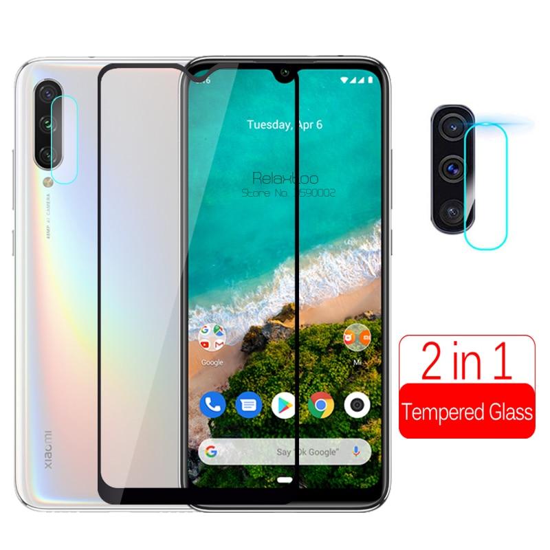 2 в 1 камера закаленное стекло для xiaomi mi a3 защита экрана телефона на xio mi xaomi mi a3 a 3 3a xiaomi a3 Защитная пленка для объектива