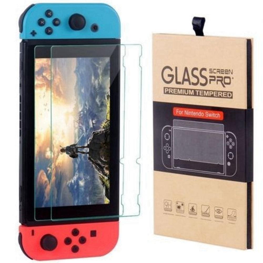 BEIJOS 9H Premium de Vidro Temperado Para Nintend Interruptor Interruptor De Vidro Anti-impressão digital Protetor de Tela Para Nintendo Vidro Temperado