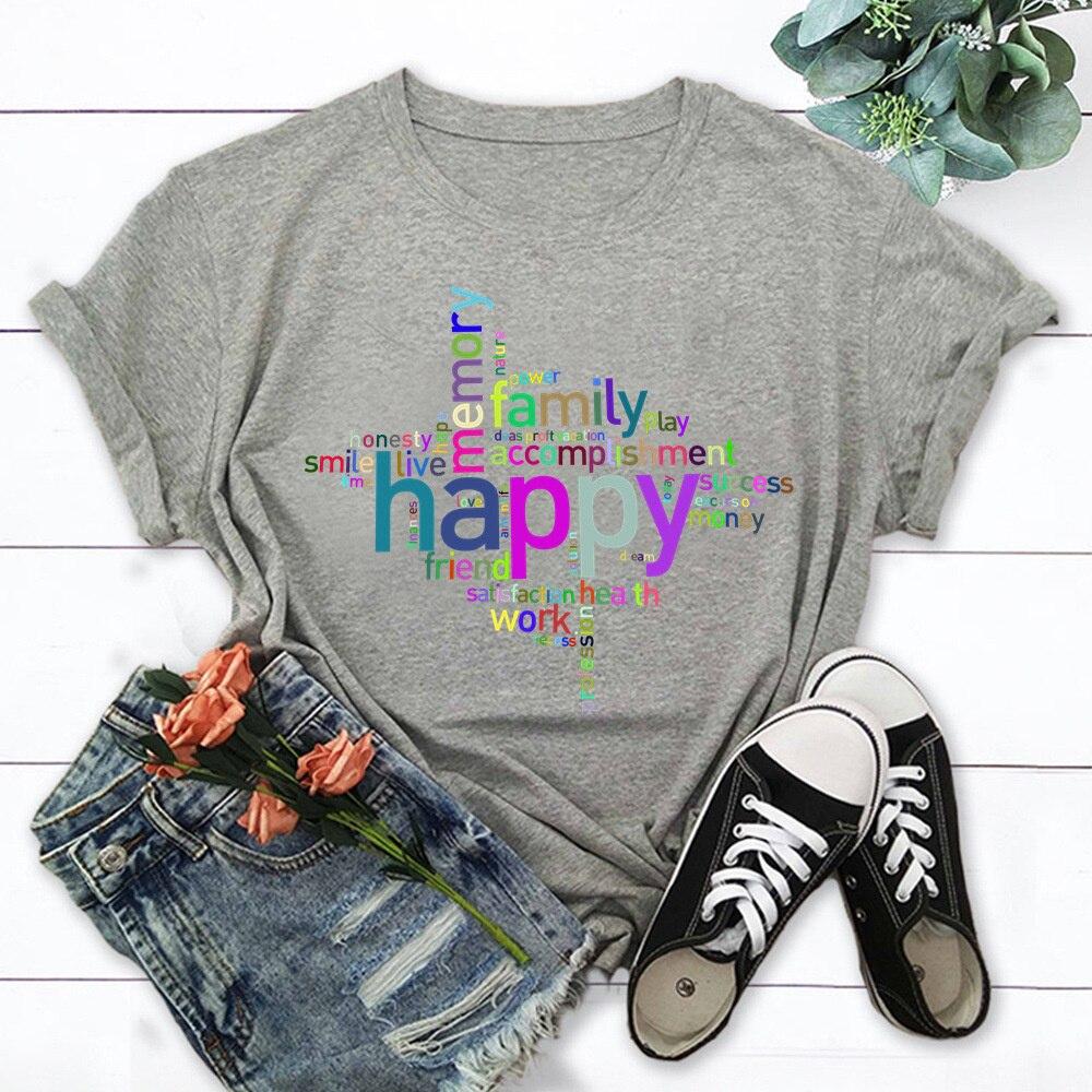 Фото - Модные летние топы с рисунком шрифтов, женская футболка, новая футболка, футболка с графическим рисунком, женская футболка, футболка TX8915 футболка pavesa pavesa mp002xw0r2as