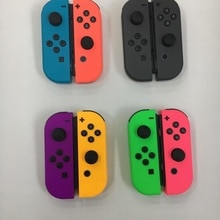 NEW Shell For Nintendo Switch Console Purple Joystick Blue Controller Switch Accessories Gamepad Joy