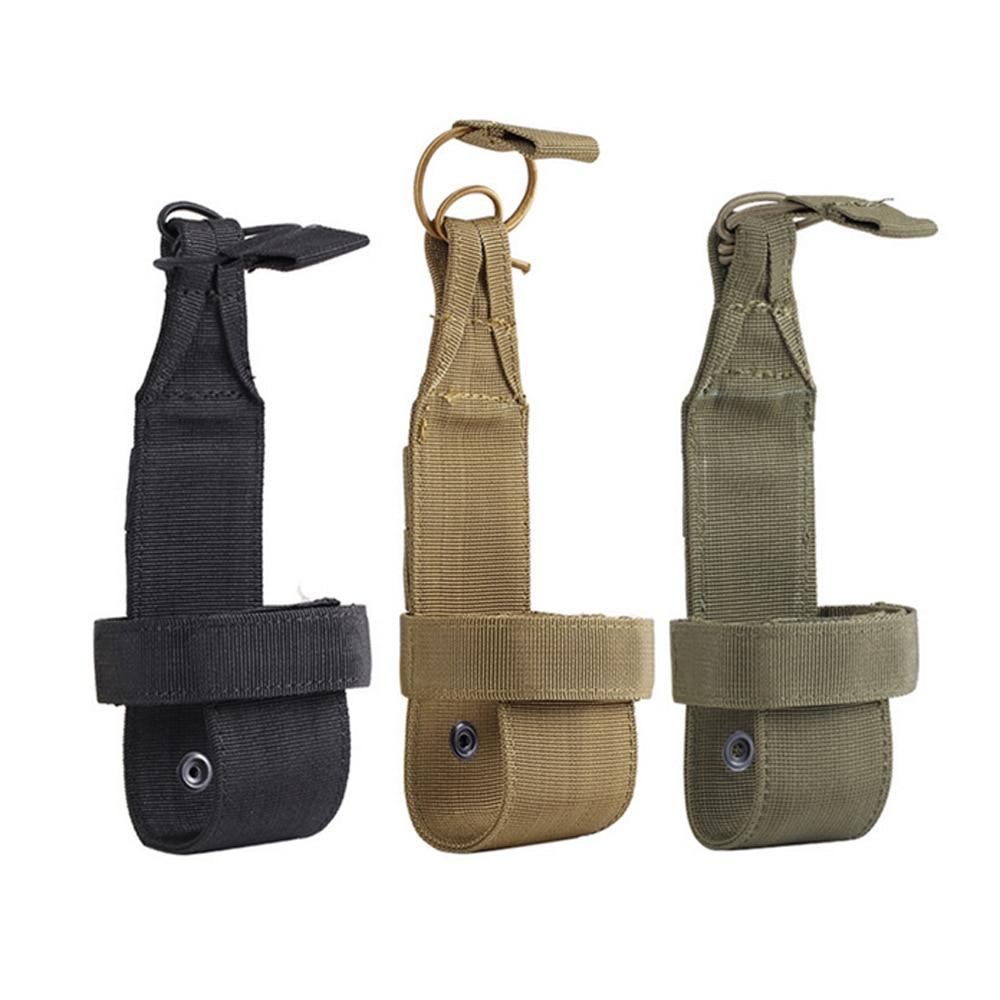 Molle táctico bolsa portabotellas para campamento militar, senderismo, caza, cantimplora, bolsa portatil