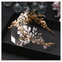 romantic flower wedding headpiece bridal headband wedding hair accessories bridal crown flower headband women bride hair jewelry