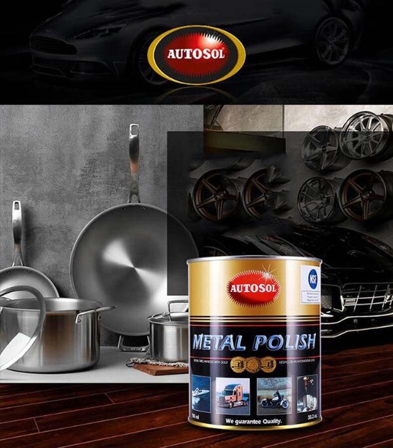 Large Capacity Canning 750ml Metal Polishing Paste Remove Rust Polishing Metal Stainless Steel Watch Polishing Paste enlarge
