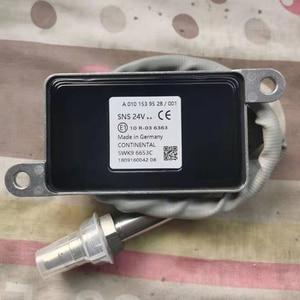 NOX Sensor Nitrogen Oxygen Sensor 5WK96653A 5WK96653C A0101539528 A0091530028 for Mercedes-Benz