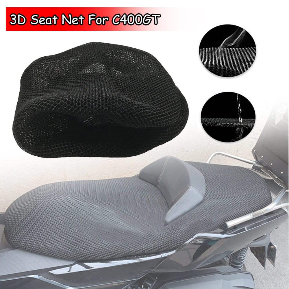 For C400GT C400 GT Rear Seat Cowl Cover 3D Mesh Net Waterproof Sunproof Protector Motorcycle Accessories Motor Parts 2019 2020