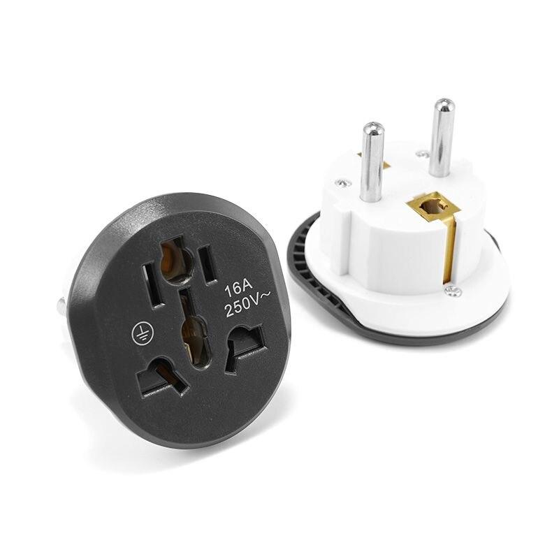 Adaptador de viaje Universal, enchufe eléctrico de Adaptador de enchufe de la...