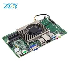 XCY Onboard CPU Motherboard ITX Intel Core i3 7100U 2.40GHz Motherboard Mini DDR4 mSATA SATA Mini PCI-e Mainboard Desktop