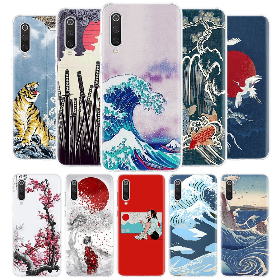 Tokio arte japonés cubierta funda de teléfono para Xiaomi Redmi Nota 9S 9 8 8T 7 6 Pro 6A 4X 7A 8A S2 5A 5 Mi 8 9 Lite Pro CC9 F1 Coque
