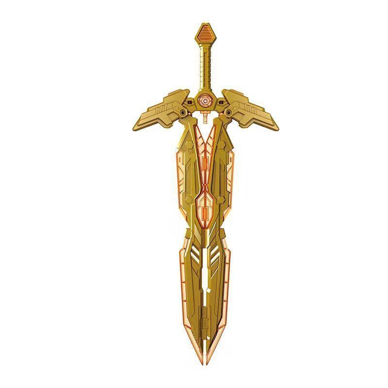 Wei JiangTianyuan, combinación de poder, gran espada gigante, arma espiritual, accesorios de código especial, figura de juguete modelo de acción de anime de PVC
