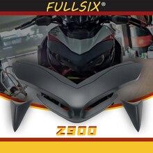 Für Kawasaki Z900 2017-2020 Vordere Schnabel Nase Kegel Erweiterung Abdeckung Extender Motorrad Front Verkleidung Aerodynamische Winglets