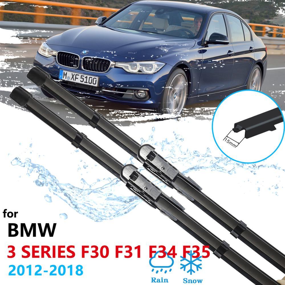 Limpiaparabrisas de coche para BMW 3 Series F30 F31 F34 F35 2012 ~ 2018, limpiaparabrisas, accesorios de coche 2013 2014 2015 2016