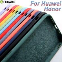 Luxury Liquid Silicone Case For Huawei P30 P20 P40 Mate Honor 20   30 Lite Pro P Smart 2019 Soft TPU