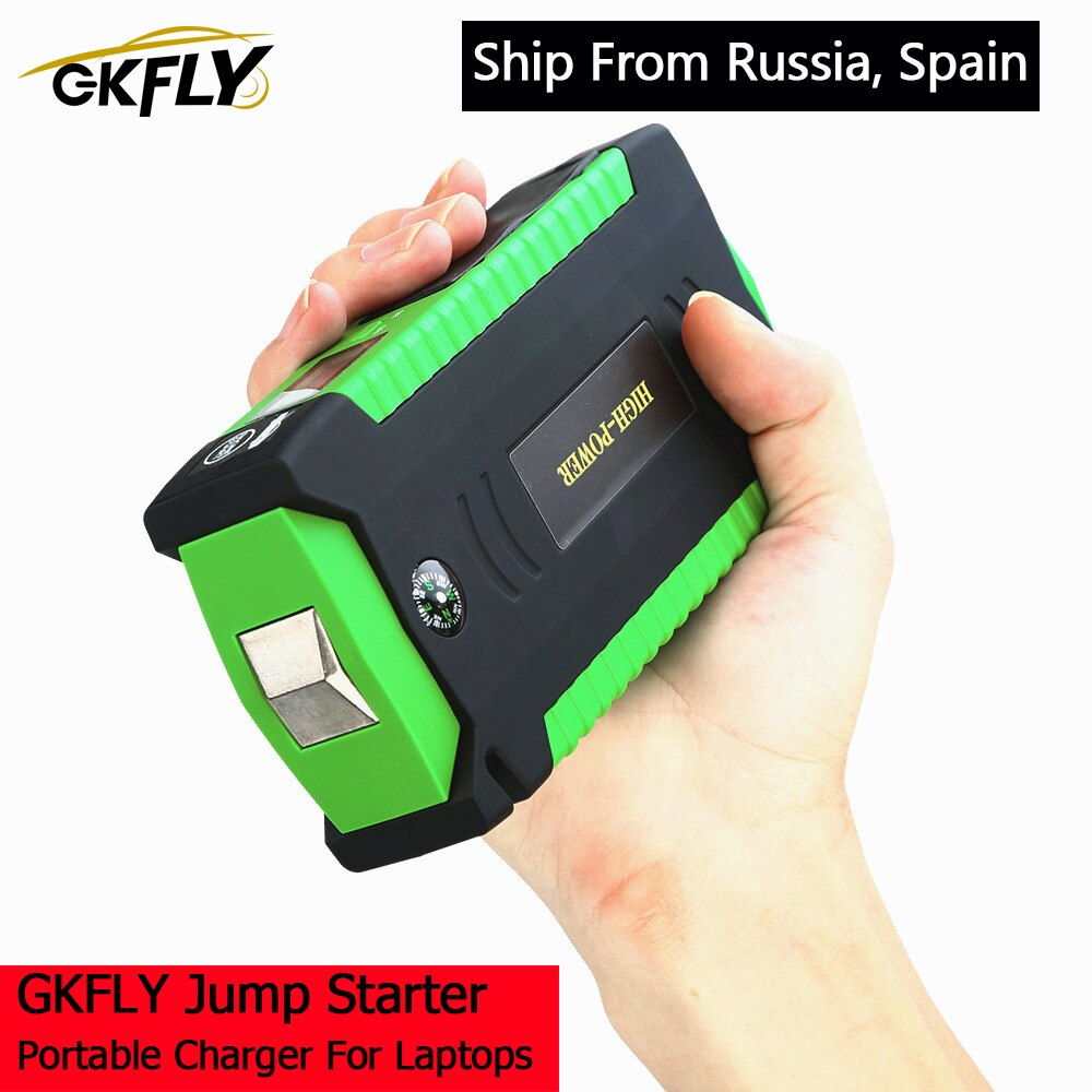 GKFLY 600A متعددة الوظائف الانتقال كاتب 16000mAh 12 فولت بدء جهاز شاحن سيارة للسيارة بطارية معززة البنزين الديزل قوة البنك