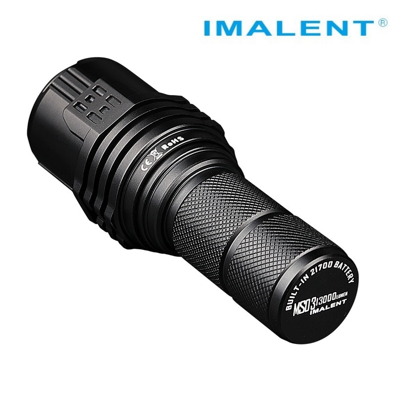 IMALENT MS03W LED Flashlight CREE XHP70 Gen.2 13000Lumen  EDC Rechargeable Flashlight with 21700 Battery for Camping Spotlights enlarge