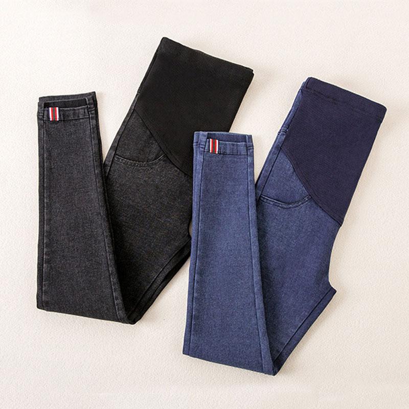 Denim Jeans Maternity Pants For Pregnant Women Clothes Nursing Pregnancy Leggings Trousers Gravidas