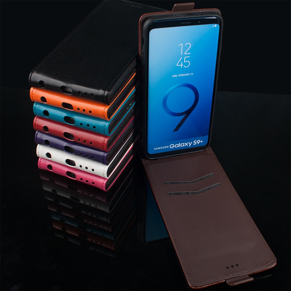 S6 S7 S8 S9 Plus Case for Samsung Galaxy A10 A20 A3 A7 A6 A8 A9 2018 A51 A71 Note 8 9 Case Flip Leat