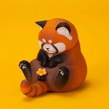 Boîte aveugle véritable regard entrejambe chat deuxième génération fantaisie création chat cloche fuji oncle populaire mignon ornements cadeau poupée