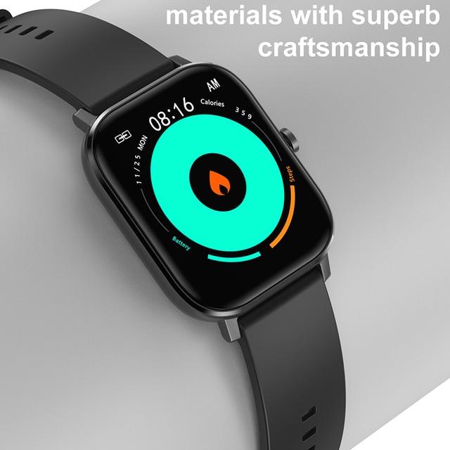 Reloj Inteligente Smart Watch Bluetooth Call IP67 ECG 2021 Smartwatch Men Sprot Smart Watch For Android Xiaomi Huawei IOS Iphone 4