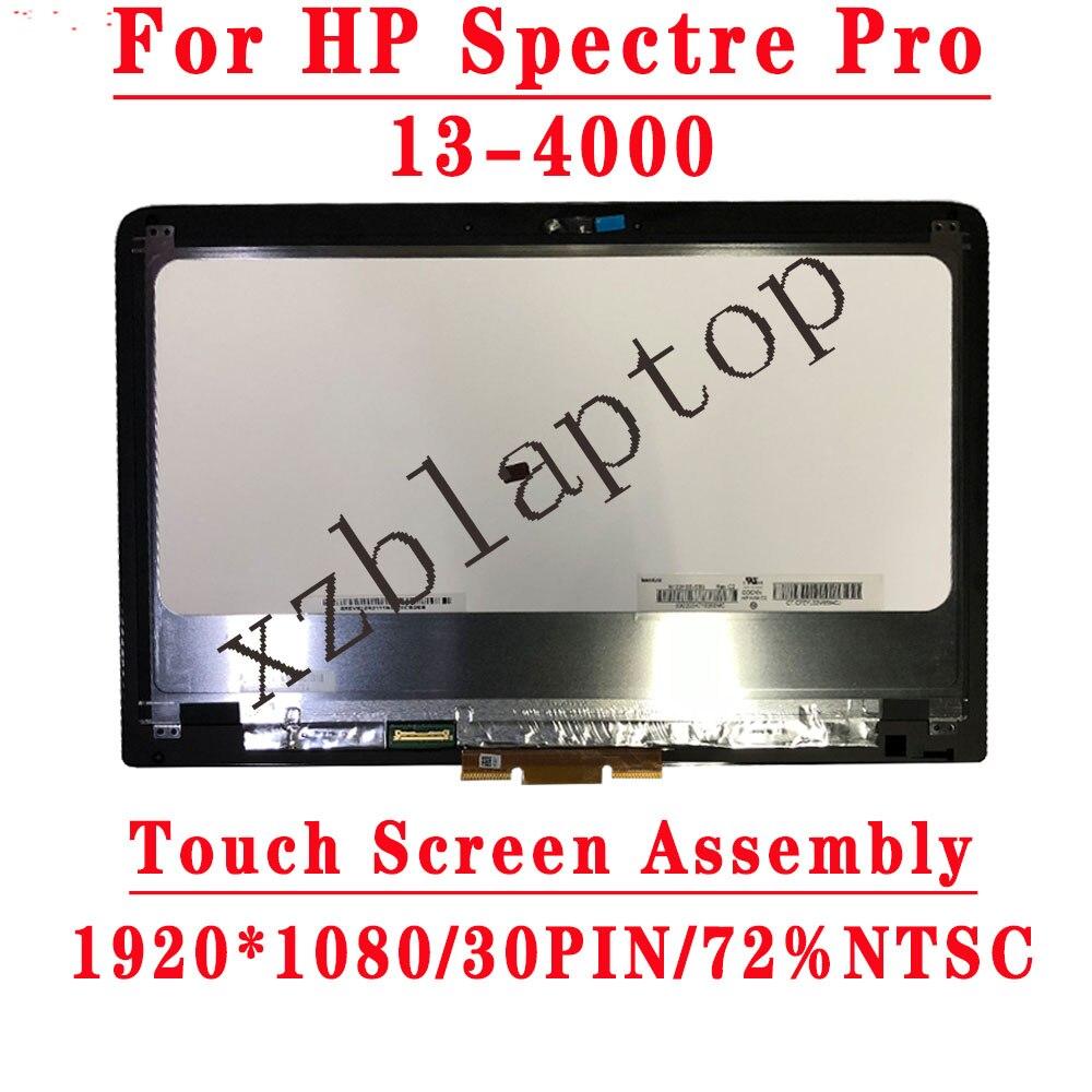 شاشة لمس LCD مقاس 13.3 بوصة لجهاز HP spectrum Pro X360 ، 13-4000 ، 13.3 بوصة ، 1920 × 1080 ، 30 سنًا أو 2560 × 1440 ، 40 سنًا
