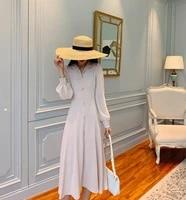 new autumn women slim fashion designer chic casual holiday bandage party dress
