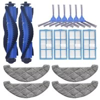 replacement for proscenic 850t robotic vacuum cleaner parts side brush mop cloth hepa filter rags main brush roll