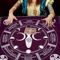 home decoration 19 6819 68in altar tarot card cloth soft astrology tablecloth table cover