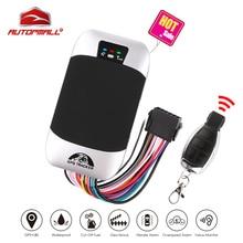 Auto GPS Tracker Fernbedienung Abgeschnitten Motor Fahrzeug Tracker GSM GPS Locator Wasserdichte IP66 Coban TK303G Geofence Freies Web APP